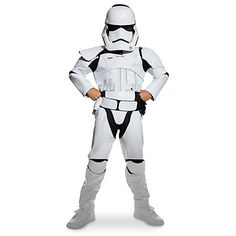 £35.95  Stormtrooper Costume For Kids, Star Wars: The Force Awakens