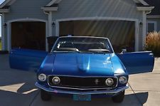 Ford : Mustang 2-door 1969 convertible mustang 200 cu in 3.3 l with c 4 automatic transmission