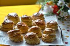Z mojej kuchyne i fotoaparátu ...: Oškvarkové pagáče Biscuits, French Toast, Almond, Muffin, Food And Drink, Breakfast, Recipes, Basket, Crack Crackers