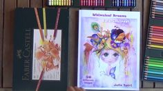Coloring book for adults:  Whimsical Dream Demo