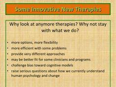 Third Wave Behavior Therapies by kjdrab via slideshare