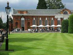 The Orangery (Kensington Palace), Kensington Gardens. Kensington Palace Orangery, Next London, Conservatory Design, Sunken Garden, London England, Perfect Place, Mansions, Architecture, House Styles