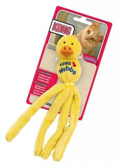 Easter time toys for your Cat. Purchase the Kong Cat Wubba - Duck, Bunny & Mouse. Get yours now from http://www.aussievetproducts.com.au/products/kong-cat-wubba-duck-bunny-mouse