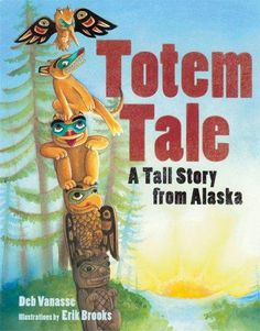 I use this book when teaching about Native American art - totem poles