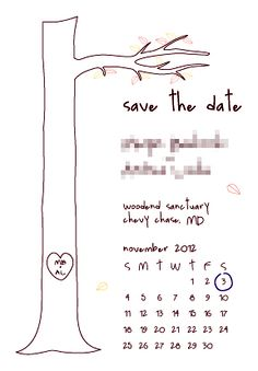Save The Date Idea We Could Do This With Our Plenty Of Fish