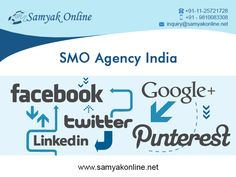 SMO is the best way to promote your business worldwide more fastly with the help of most popular social networking sites like Facebook, Twitter, LinkedIn, My space etc.. you can share your business updates on these sites & collect likes, followers and can earn revenue.