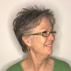 Choppy Pixie For Women Over 70