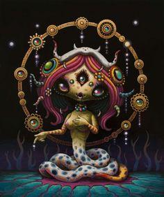 I love this Yoko D'holbachie art.