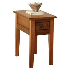 Lorne Chairside End Table - Oak
