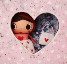Isn't she the cutest valentine girl?
