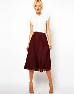 Storehouse of Memory: It's Trendy: Midi Skirts