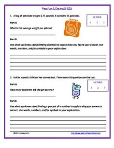 Printables Constructed Response Worksheets an example of a 4th grade constructive response question and this 6 page packet helps students practice answering brief constructed questions extended response