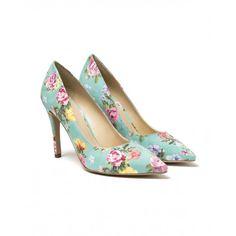 Décolletes com padrão floral - Benetton