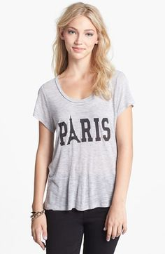 Ten Sixty Sherman 'Paris' Tee (Juniors) available at #Nordstrom