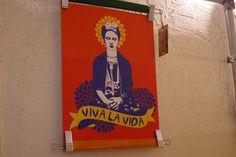 Frida Kahlo art print with hangers frame, by Rooftop. Rooftop, Hangers, Objects, Illustrations, Art Prints, Frame, Etsy, Home Decor, Frida Kahlo