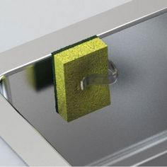 sponge holder stores your dish sponge neatly attached to your sink and out of sight - Kitchen Sink Holder