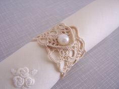 crochet  napkin rings by mehves1979 on Etsy, $40.00