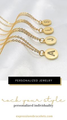 The perfect necklace to add to any jewelry collection that is simple, dainty, yet a statement piece with your choice of initial. Stainless steel gold necklace that is tarnish proof and long lasting. Show them they are special with this dainty gold charm necklace. #hChristmasgiftsforher Initial Necklace Gold, Letter Necklace, Dainty Necklace, Bridesmaid Gifts, Bridesmaids, Personalized Necklace, Initial Charm, Gifts For Friends, Besties