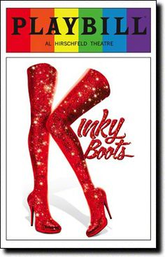 Kinky Boots Playbill Covers on Broadway - Information, Cast, Crew, Synopsis and Photos - Playbill Vault