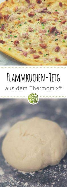 Probiere unseren Flammkuchenteig aus dem Thermomix!