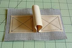 """How to sew a perfect """"X"""" box, a classic """"finishing"""" technique that is so necessary to reinforce straps and/or other attachments(tops of pockets) to ensure long wearing garm..."""