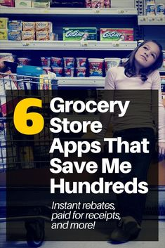 Everyone goes grocery store shopping, but did you know you can turn those receipts into money? It's possible AND it's very easy. | save money | money saving apps | save money on groceries | frugal living | apps to save money || Wallet Hacks #savemoney #frugal #apps