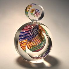 Perfume bottle by Paul Harrie. I really want one of  his bottles for my collection.