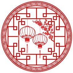 Chinese Festival Lantern Royalty Free Stock Vector Art Illustration