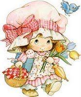 les meli melo pour vos creas - Page 4 Strawberry Shortcake Characters, Vintage Strawberry Shortcake, Illustration Mignonne, Cute Illustration, Cute Images, Cute Pictures, Art Mignon, Etiquette Vintage, Cute Clipart