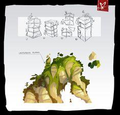 Action Game Concept Art [Full}, Matt Sanz on ArtStation at https://www.artstation.com/artwork/0QGoK