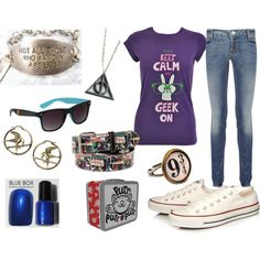 Geek Outfit! Haha, MY kind of geek outfit.