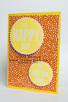 Stampin' Up! Oh Happy Day