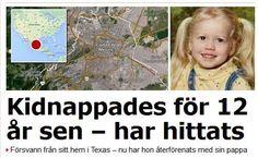 Det är med blandade känslor som jag läser om Sabrina Allen i svensk media. Varför ? Jo, för det verkar gå alldeles utmärkt för svensk media att skriva om barn som kidnappas av en förälder, läs mamm...