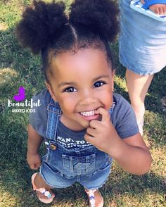 Black Baby Girls, Black Kids, Beautiful Black Babies, Beautiful Children, Cute Kids, Cute Babies, Mixed Babies, Brown Babies, African American Babies