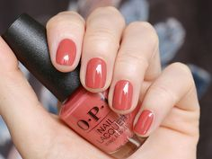 Nails OPI My Solar Clock is Ticking You should start by taking a walk around your pro Opi Nail Polish Colors, Opi Nails, Shellac, Colorful Nail Designs, Fall Nail Designs, Cute Nails, Pretty Nails, Fall Gel Nails, Gorgeous Nails