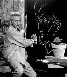 Jean Cocteau · Self Portrait · 1959 · Photo credit: Lucien Clergue