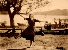 Mary Pickford, on-set of the Silent Film, Tess of the Storm Country, Stock Photo, Picture And Rights Managed Image. Hip Hip, Silent Film Stars, Movie Stars, Douglas Fairbanks, Mary Pickford, Film Studio, Charlie Chaplin, No Me Importa, On Set