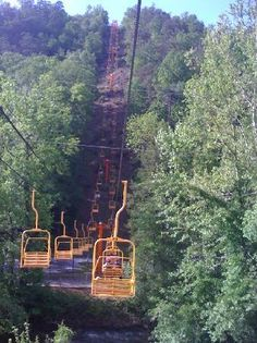 Gatlinburg Sky Lift  765 Parkway, Center of town at traffic light # 7, Gatlinburg, TN 37738  865-436-4307