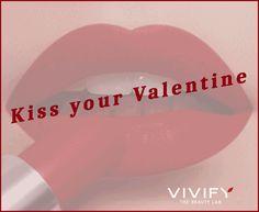 Kiss your Valentine! 💋 Αποκτήστε όμορφα, σαρκώδη χείλη με την εφαρμογή υαλουρονικού οξέος μόνο με 145€!  #ValentinesDay #KissDay #beauty #care #lips #vivify Kiss You, Blush, Beauty, Rouge, Beauty Illustration