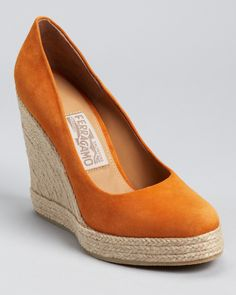 Salvatore Ferragamo Wedges - Bernie Espadrille (What goes around comes around...been here before!)