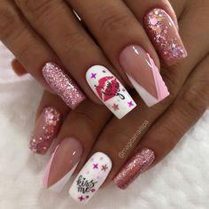 "Magical Spa on Instagram: ""Acrílicas Esculpidas #magicalnailspa #nails #nailsart #nailsaddict #uñasacrílicas #acrilicasesculpidas"" All Heart, Valentines Day, Valentine Nails, Spa, Nail Art, Photo And Video, Instagram, Beauty, Valentine's Day Diy"