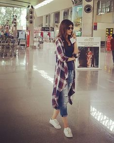 Candid me.. Captured by @harjeetsphotography at Varanasi airport :))