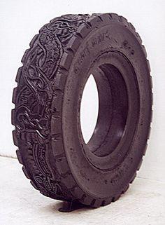 Betsabee Romero Tire art and prints