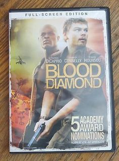 Blood Diamond (DVD) Leonardo Dicaprio, Jennifer Connelly - 5 Oscars Nominations