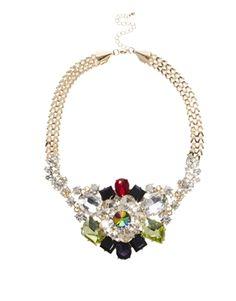 Collar Night Garden de ASOS Premium