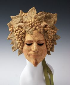 Bacchus/Dionysus by TheArtOfTheMask on Etsy, $185.00