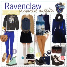 Ravenclaw outfits