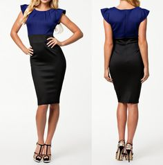 Find More Dresses Information about Office Dress 2014 New Vestidos OL Elegant Career Dress Women Work Wear Bodycon Midi Pencil Dress Summer Casual Dress 9075,High Quality Dresses from Proto Nail Art & Beauty Products Wholesales on Aliexpress.com