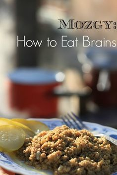 Mozgy: How to Eat Brains, Slovak Style