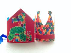 The Very Hungry Caterpillar Birthday Crown on Etsy, $15.00